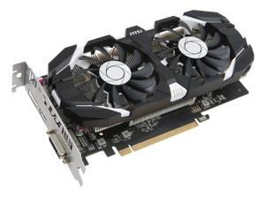 MSI GTX 1050 Ti OC 4GB GDDR5 Graphics Card (GTX 1050 TI 4GT OC)