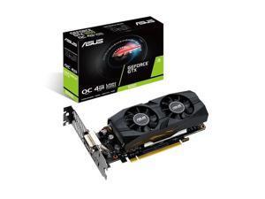 ASUS GTX1650-O4G-LP-BRK - OC Edition - graphics card - GF GTX 1650 - 4 GB GDDR5 - PCIe 3.0 x16 low profile - DVI, HDMI,