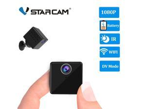 Vstarcam C90S Mini Spy Camera Hidden Nanny Camera with Night Vision and Motion Detection - Wireless for Indoor Outdoor Use - 1080p HD Recording - 2-in-1 WiFi/DV Mode - for Home or Business