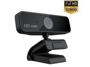 HXSJ 1080P HD Pro Webcam S1 , Advanced Autofocus Video Calling and Recording, 1920 *1080 Dynamic Resolution 30 FPS Webcam Camera, Desktop or Laptop Webcam