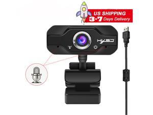 HXSJ S50 1MP 720P Full Hd Webcam, USB Camera,Computer Laptop Camera for Conference and Video Call, Pro Stream Webcam for Working at Home