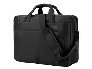 Jansicotek BW-186 Professional Large Space Roomy Laptop Bag Case Briefcase Carrying Bag for Fits - 15-15.6 Inches Laptop, Macbook, Notebook Computer