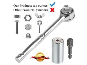Wanmingtek Universal Socket 3pcs Tool set (7-19mm) |Bushing Ratchet wrench set | Multi-Function Gator Socket Adapter Magical Grip Wrench Power Drill Adapter Set