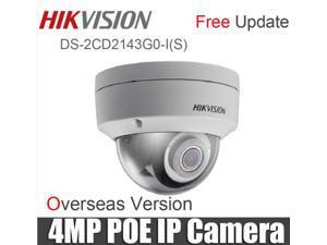 Original Hikvision English Version DS-2CD2143G0-I Upgraded version DS-2CD2142FWD-I CCTV Dome IP Camera 4MP PoE Upgrade EZVIZ IR 30M Outdoor-4mm lens