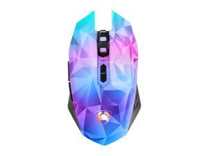 Wanmingtek M6 MIXIE MMO Gaming Mouse, 2400 DPI High Precision, Breathing Light, USB Wired Computer Mice Desktop Laptop PC Gaming Mouse for Windows XP / 7 / 8 / 10 / Mac OS