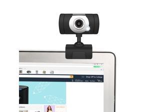HXSJ High Definition 480P HD 640*480 Webcam USB Camera with MIC Microphone Web Camera For PC Laptop Computer