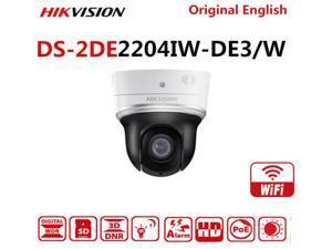 HIKVISION DS-2DE2204IW-DE3/W International Version 2MP 4X Zoom IR Wi-Fi IP PTZ Camera Support IR 20M Onvif POE EZVIZ SD Card