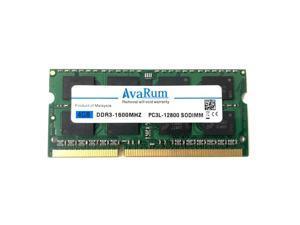 8GB (2x4GB) DDR3 1600 (PC3 12800) SODIMM Laptop Memory RAM