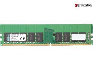 Kingston KVR21E15D8/16 64GB Kit (4x16GB) DDR4 2133 (PC4 17000) 2Rx8 288-Pin 1.2V ECC Unbuffered UDIMM Memory For Servers & Workstations KVR21E15D8/16