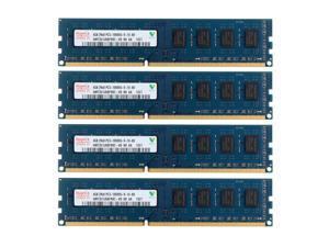 Hynix 16GB 4X4GB DDR3 1333MHz 2RX8 PC3-10600U 240PIN DIMM Desktop memory