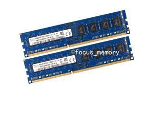 Hynix 16GB 2X 8GB PC3-12800 1600Mhz 240pin 12800U DDR3 Desktop Memory RAM NonECC