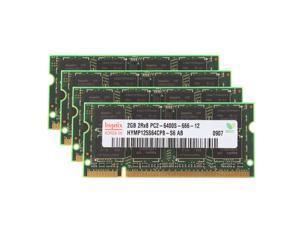 Hynix 16GB (8X 2GB) 2Rx8 PC2-6400 DIMM DDR2 800Mhz 1.8V 200pin Laptop Memory RAM