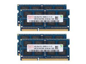 Hynix 16GB 4X 4GB PC3-10600 DDR3 1333mhz 204PIN SODIMM Laptop Memory