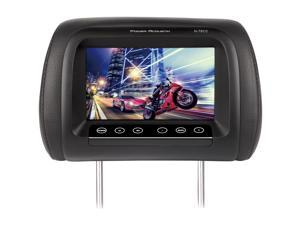 """Power Acoustik 7"""" Headrest Monitor 3 Color Skins Dual Channel Ir  9.25In. X 7.5In. X 10.75In."""