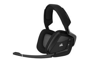 Gaming Headset  Corsair Void RGB Elite Wireless Premium Gaming Headset with 7.1 Surround Sound, Carbon