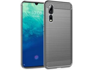 Dzxouui Compatible for ZTE Axon 10 Pro Case,Protective Phone Cover Shockproof Soft TPU Cases for ZTE Axon 10 Pro(DL-Gray)