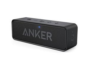 Anker High performance Bluetooth Speaker with 24-Hour Playtime, 66-Foot Bluetooth Range & Built-in Mic, Dual-Driver Portable Wireless Speaker with Low Harmonic Distortion and Superior Sound - Black