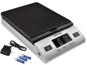 Digital Postal Scale, Shipping Scale, All-in-1 High Performance scale Series A-Pt 50 Digital With Ac Adapter, Space saving