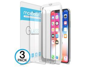 Screen Protector for Apple iPhone Xs & iPhone X & iPhone 11 Pro (3 Packs, Clear) 0.25mm Tempered Glass Screen Protector with Advanced Clarity [3D Touch] Work w/Most Case 99% Touch Accurate