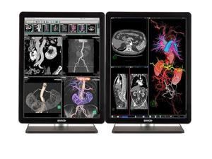 Pair (x2) New Barco® MDNC-3421 3MP Color LED Medical Diagnostic Radiology Display Monitors (K9300340A)