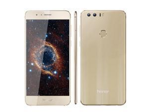 "Original Huawei Honor 8 4G LTE Mobile Phone 4G RAM 32G Rom dual camera Octa Core 5.2"" FHD 1920*1080 Fingerprint NFC"