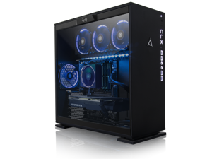 CLX Set GAMING PC AMD Ryzen Threadripper 2920X 3.5GHz (12 Cores) 32GB DDR4 6TB HDD & 960GB SSD NVIDIA RTX 2080 8GB GDDR6 MS Windows 10 64-Bit