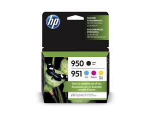 HP 950 Black/951 Cyan/Magenta/Yellow 4-pack Original Ink Cartridges - X4E06AN#140