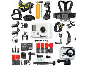 GoPro Hero HD camera High Definition Camcorder With 35-In-1 Action Camera Accessory Kit