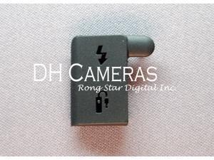 Canon EOS 1D Mark III Terminal Cap Rubber Flash USB Grip Cover Camera Body Part