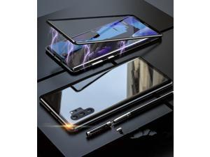 NEW Magnetic Metal Tempered Glass Back Cover Casing Case For Samsung Galaxy Note 10 Plus