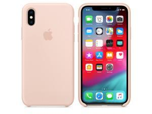 Apple Silicone Case (for iPhone XS) - Pink Sand