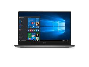 "Dell XPS 15 9560 15.6"" Laptop Intel Core i7-7700HQ X4 2.8GHz 16 GB DDR4 512 GB SSD NVIDIA GeForce GTX 1050 4GB GDDR5 Windows 10 Home, Silver"