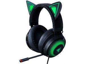 Razer Kraken Kitty Edition PC Gaming Headset - THX Spatial Audio - Black