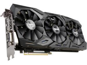 ASUS ROG GeForce GTX 1070 STRIX-GTX1070-O8G-GAMING 8GB 256-Bit GDDR5 PCI Express 3.0 HDCP Ready Video Card with RGB Lighting