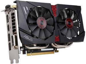 ASUS GeForce GTX 960 STRIX-GTX960-DC2OC-4GD5 4GB 128-Bit GDDR5 PCI Express 3.0 HDCP Ready SLI Support Video Card