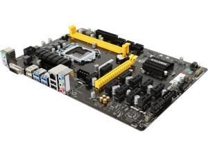 BIOSTAR TB250-BTC PRO LGA 1151 Intel B250 SATA 6Gb/s USB 3.0 ATX Intel Motherboard for Cryptocurrency Mining (BTC)