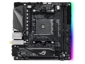 ASUS ROG STRIX B450-I GAMING AM4 AMD B450 SATA 6Gb/s USB 3.1 HDMI Mini ITX AMD Motherboard