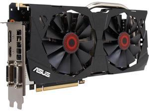 ASUS GeForce GTX 970 STRIX-GTX970-DC2OC-4GD5 4GB 256-Bit GDDR5 PCI Express 3.0 HDCP Ready SLI Support G-SYNC Support Video Card