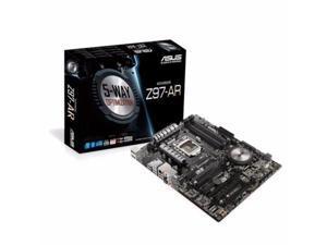 ASUS Z97-AR (90MB0JL0-M0EAY0) LGA 1150 Intel Z97 HDMI SATA 6Gb/s USB 3.0 ATX Intel Motherboard