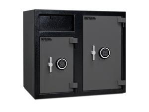 Imperial iDF-50EE Double Door Depository Safe - Electronic Lock || Securitybase.com