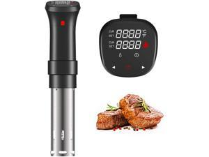 Sous Vide Machine 1000W Precision Cooker Vacuum Slow Powerful Immersion Circulator with LCD Digital Display - SJ-S016