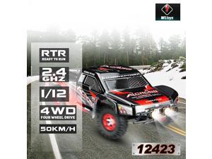 Wltoys 12423 RC Car 1:12 Scale 4WD Brushed Short Course RTR