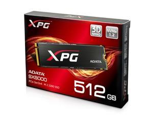 XPG SX8000 512GB M.2 PCIe NVMe MLC Internal SSD w/ XPG Heatsink (ASX8000NPC-512GM-C)