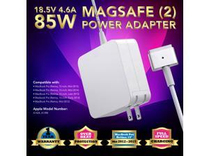 85w AC Adapter Charger for 2013 2014 2015 Apple MacBook Pro 15' 17'inch 85W Mag Safe 1 A1343 US  (ZA-APPLE-85W-MS2)