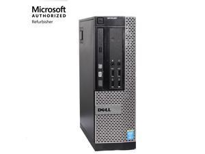 Dell OptiPlex Desktop PC Computer 7010 SFF Intel I5 3rd Gen 3470 (3.20 GHz) 8GB DDR3 RAM 256GB SSD Hard Drive DVD Wi-Fi Windows 10 Professional ( Win 10 Pro)