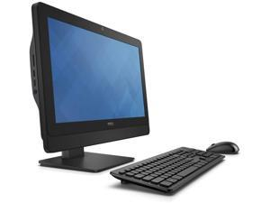 """Dell Optiplex 3030 All-in-One LED 19.5"""" 16 x 900 HD Resolution AiO Intel Core i3-4150 3.5 GHz 4th Gen 8 GB DDR3 Memory 500 GB HDD DVD-RW Webcam Windows 10 Pro"""