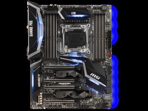 MSI X299 GAMING PRO CARBON AC Intel X299 2066 LGA ATX M.2 Desktop Motherboard A