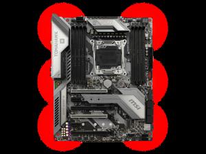 MSI X299 TOMAHAWK AC Intel X299 2066 LGA ATX M.2 Desktop Motherboard A