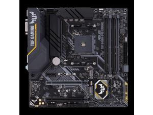 ASUS TUF B450M-PRO GAMING AMD Socket B450 AM4 MicroATX M.2 Desktop Motherboard A