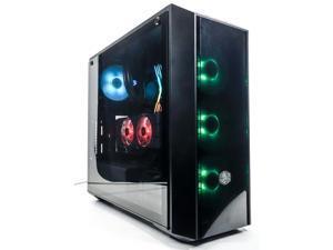"""Custom Gaming Desktop PC - AMD Ryzen 5 3600 - GeForce GTX 1080 8GB - 16GB DDR4 RAM - 512GB 2.5"""" SSD - No HDD"""